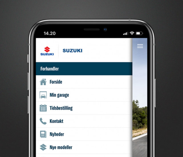 suzuki app screenshot generel