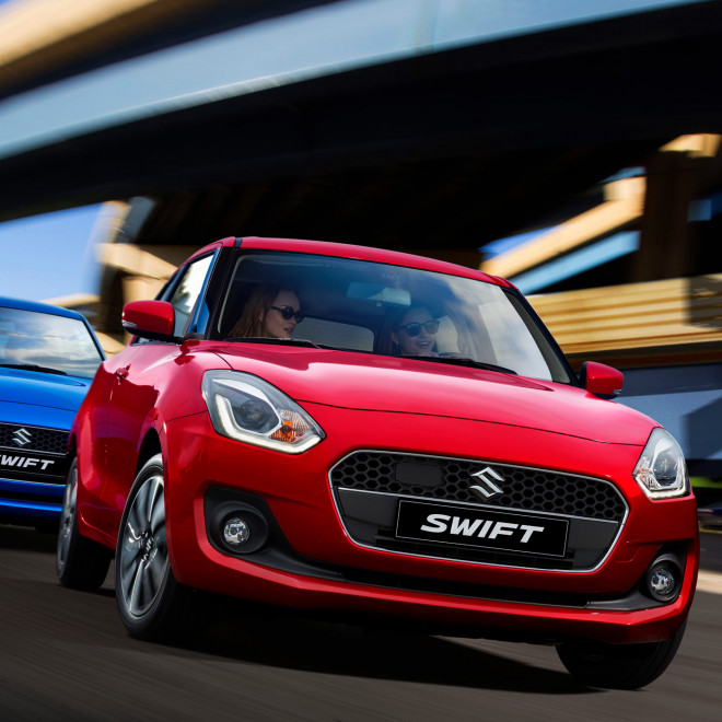 Suzuki Swift Exclusive 4 ny